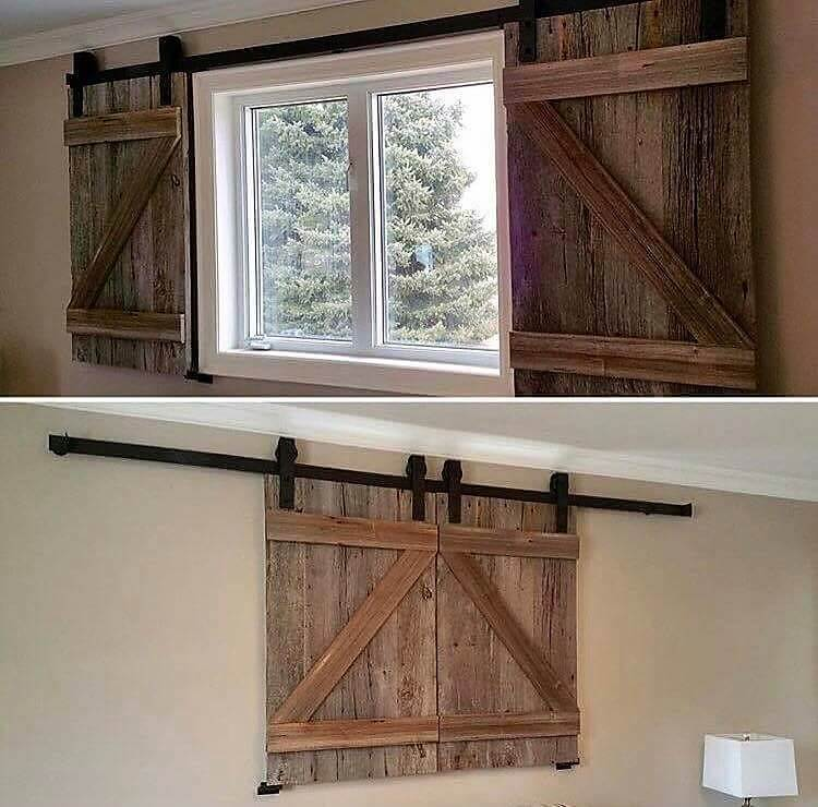 Pallet Window Sliding Doors