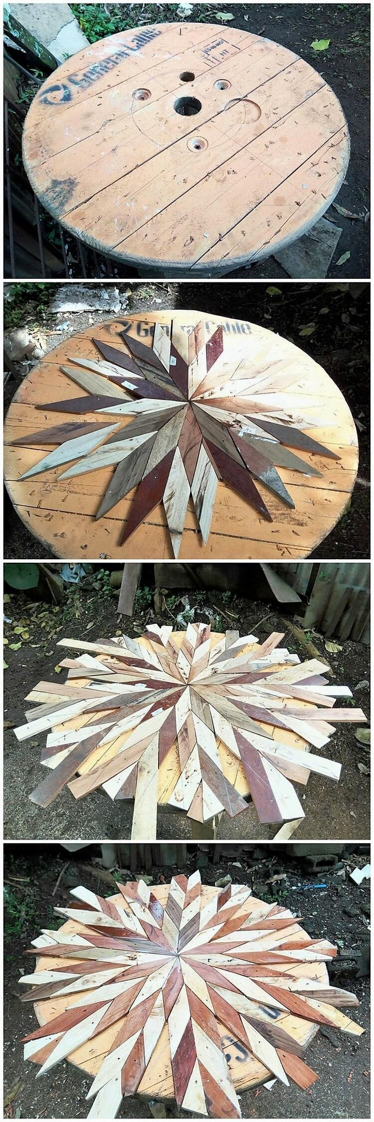 Pallet and Cable Reel Creation