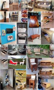 Amazing Ideas for Wood Pallets Reusing
