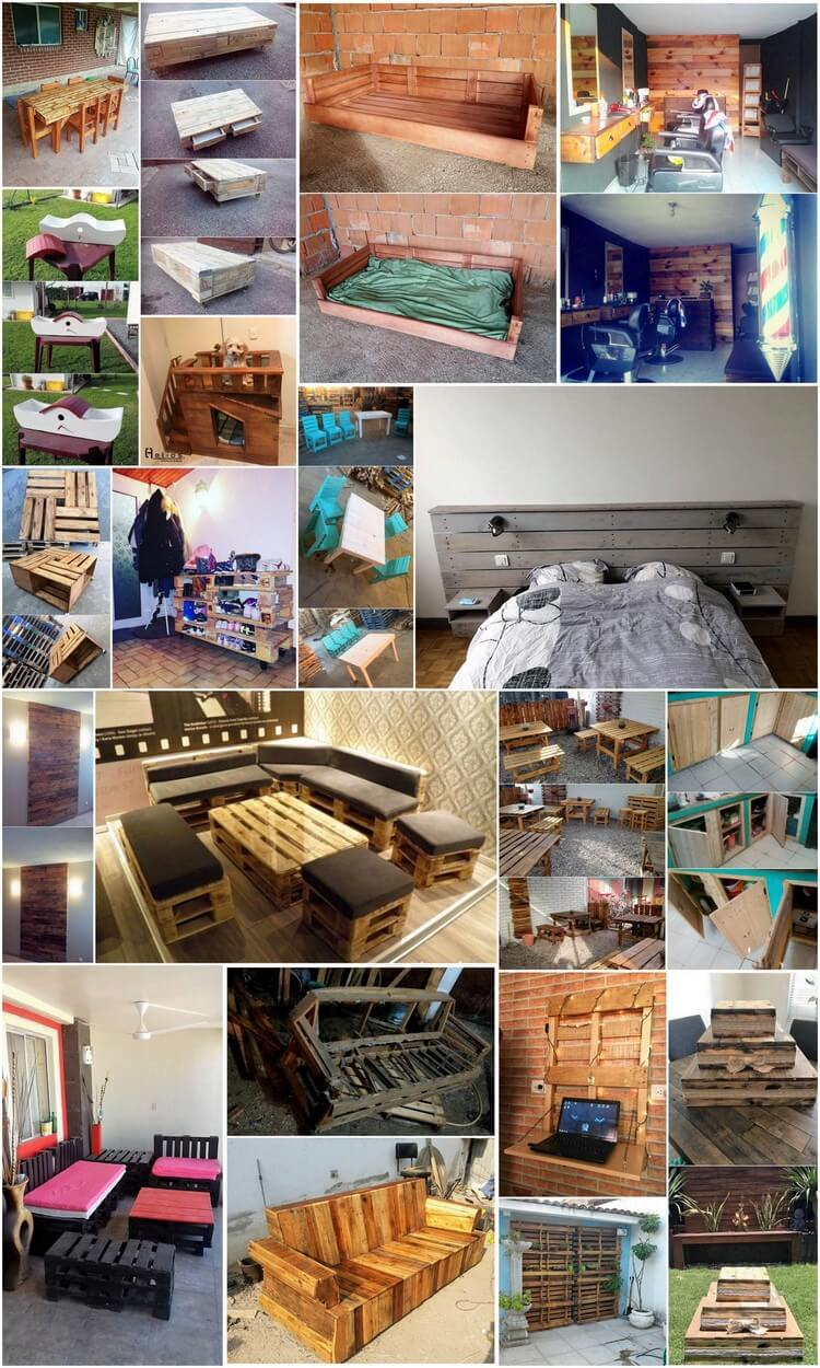 Brilliant and Decent Shipping Wood Pallet Projects