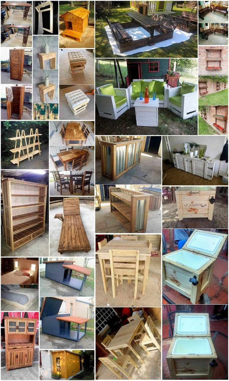Fabulous DIY Wooden Pallet Ideas and Projects