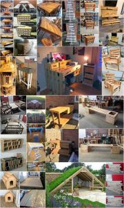 Fresh Ideas for Old Wood Pallets Recycling