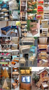 Innovative Ideas for Upcycling Old Wood Pallets
