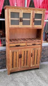 Pallet Hutch or Cabinet