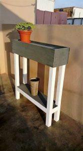 Pallet Potting Table