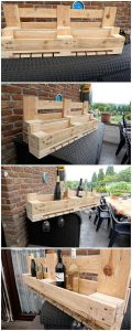 Pallet Wine Rack or Shelf