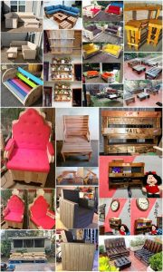 Really Inspiring Ideas with Used Wood Pallets