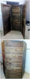 Recycled Pallet Room Divider