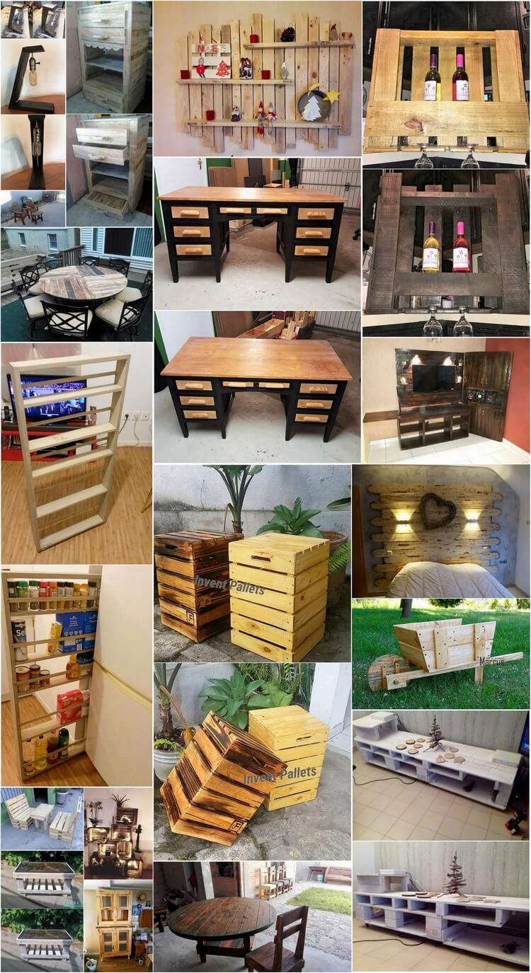 Smashing Ideas Using Old Shipping Pallets
