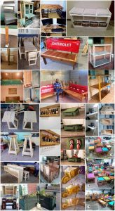 Amazing Tips to Make Furniture with Old Wood Pallets