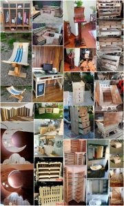 Awesome DIY Ideas with Old Pallets