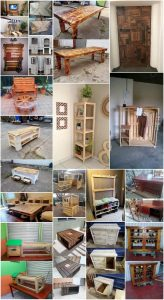Clever Ways to Repurpose Old Pallets