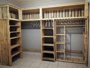 Pallet Closet or Cupboard