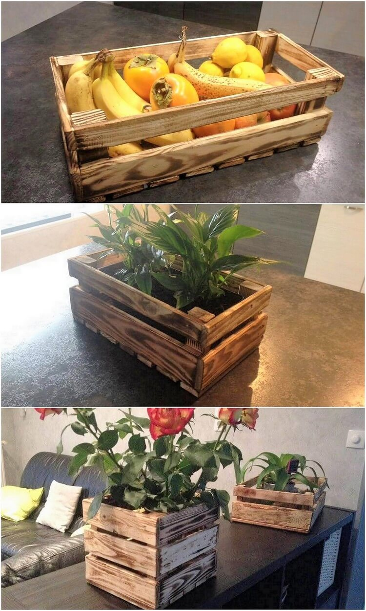 Pallet Fruit Box or Planter Box