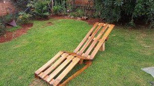 Pallet Garden Sun Lounger