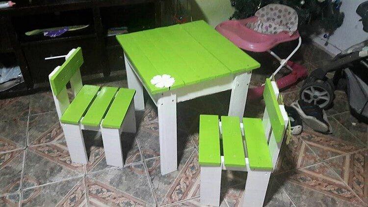 Pallet Kids Furniture Set