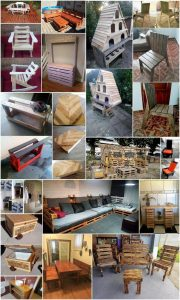 Genius Projects for Recycling Old Pallets