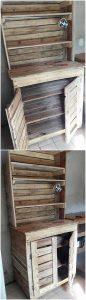 Pallet Cupboard or Cabinet