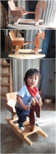 Pallet Horse for Kids