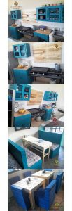 Pallet Kitchen Project