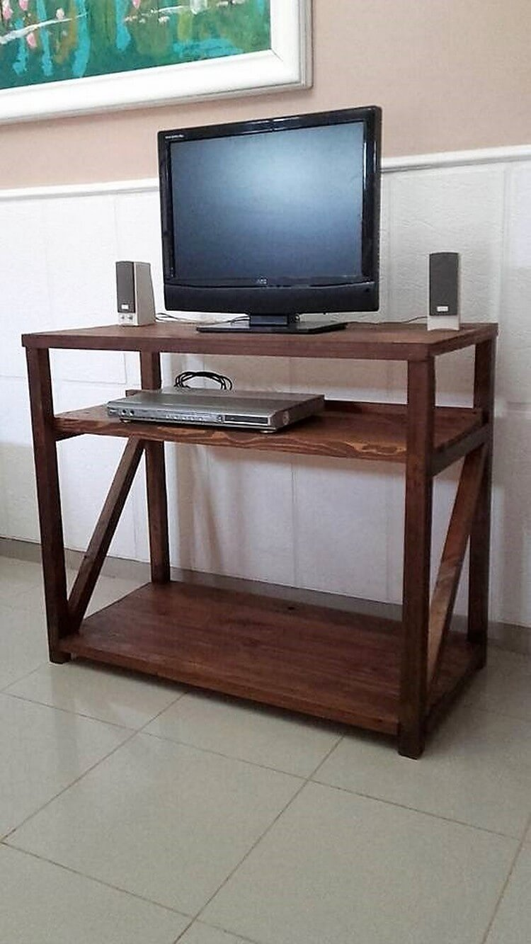 Pallet Media Table