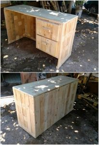 Pallet Office Desk or Study Table