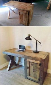 Pallet Study Table or Office Table
