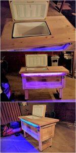 Pallet Cooler with Lights