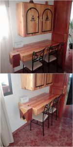 Pallet Dining Table or Cabinet