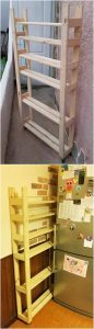 Pallet Kitchen Shelving Unit