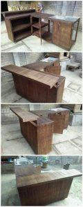 Pallet Sink with Kitchen Counter