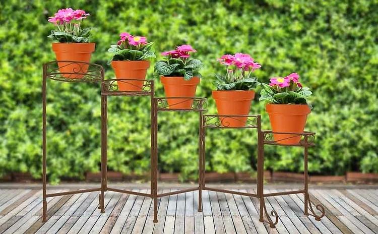 Metal Planter Pots Stand