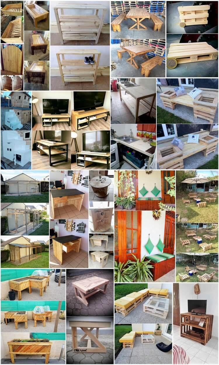 Mind Blowing Wood Pallet Reshaping Ideas