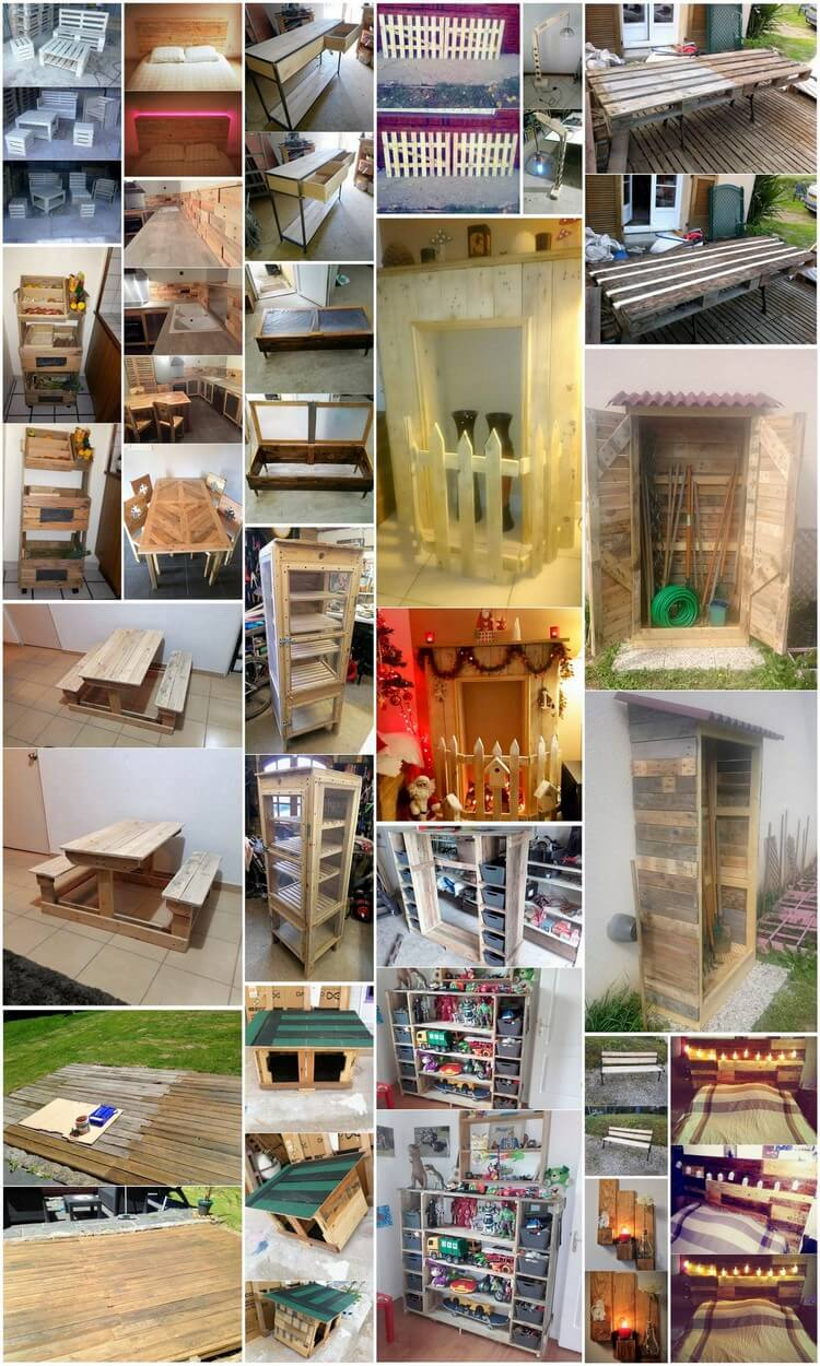 Newest DIY Wood Pallet Projects and Ideas
