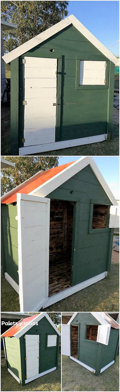 Pallet Garden Cabin or House