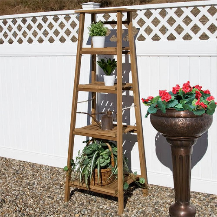 Planter Stand or Ladder Shelf