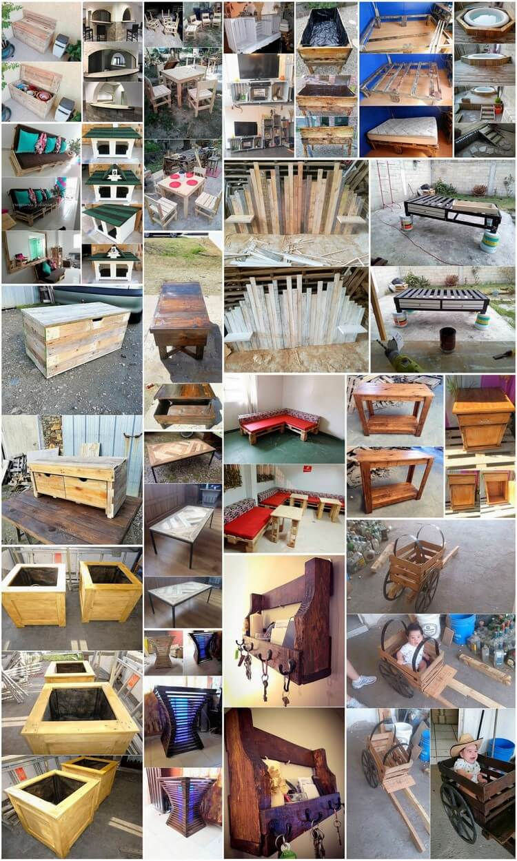 Stunning Ideas with Recycled Shipping Pallets