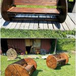 Artistic DIY Ideas for Old Wood Pallets Recycling