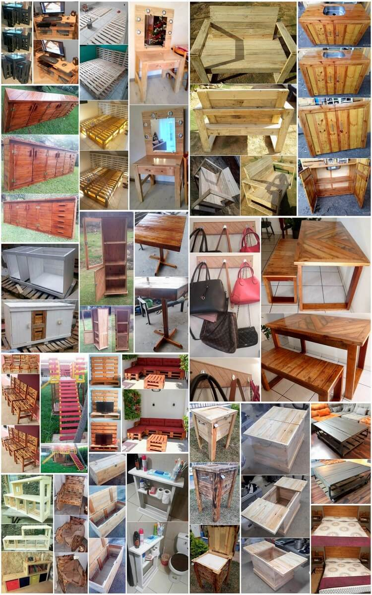 25 Amazing Ideas For Wood Pallet Recycling