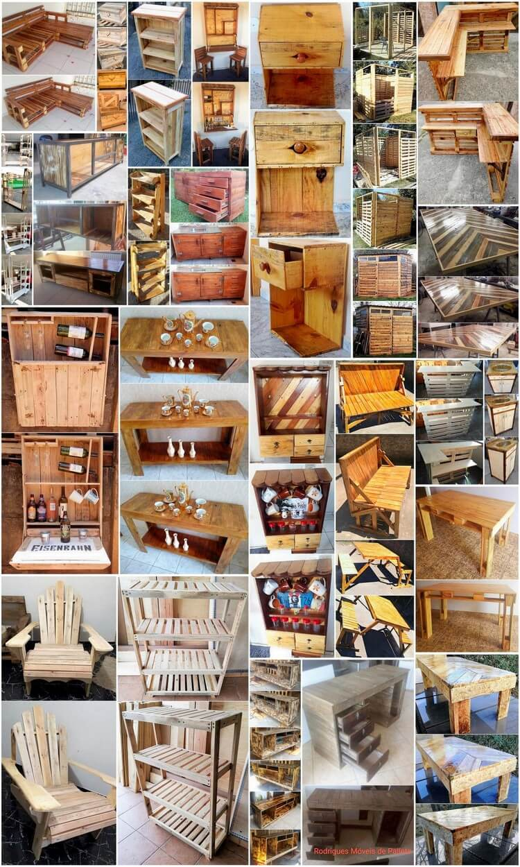 Interesting Ideas of Old Wood Pallet Recycling