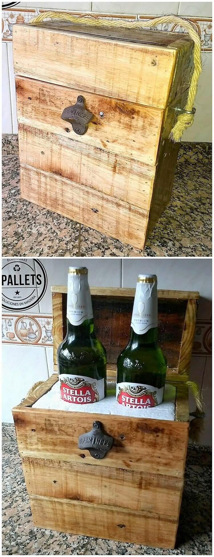 Pallet Bottles Storage Box
