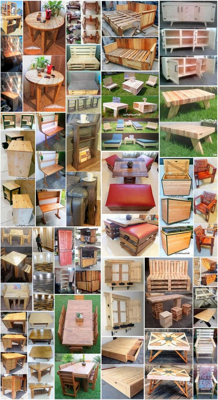 Excellent Ideas for Recycling Scraped Wood Pallets