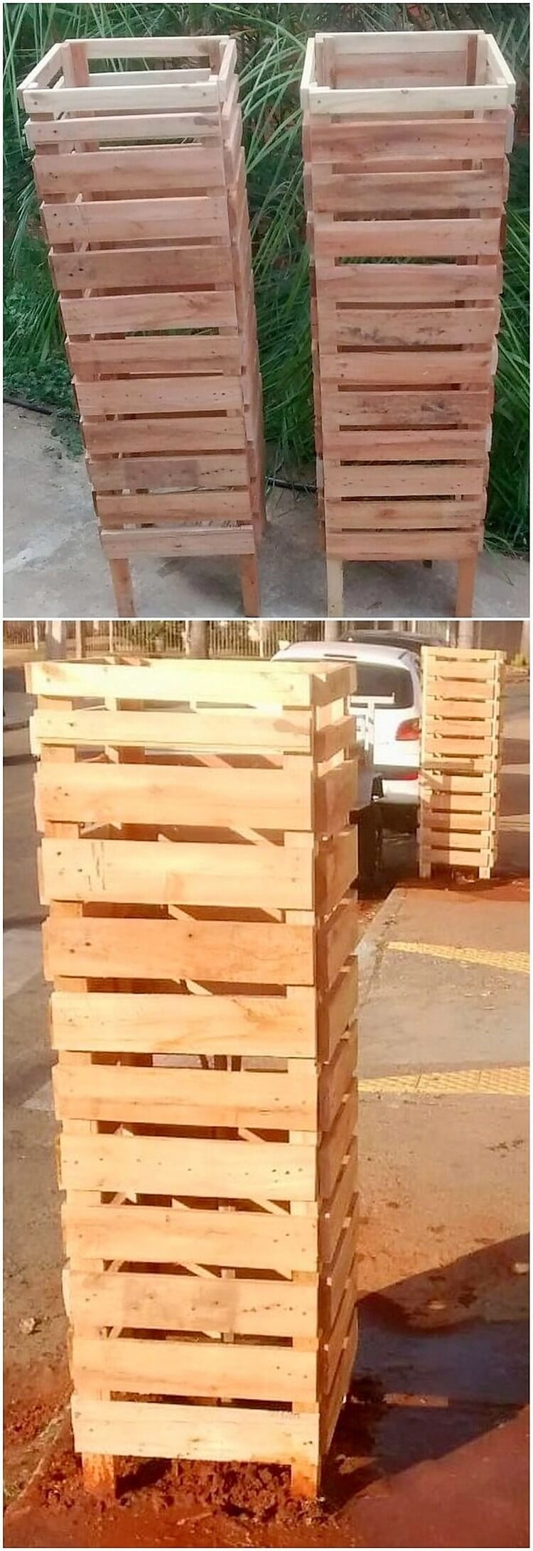 Pallet Planter Covers