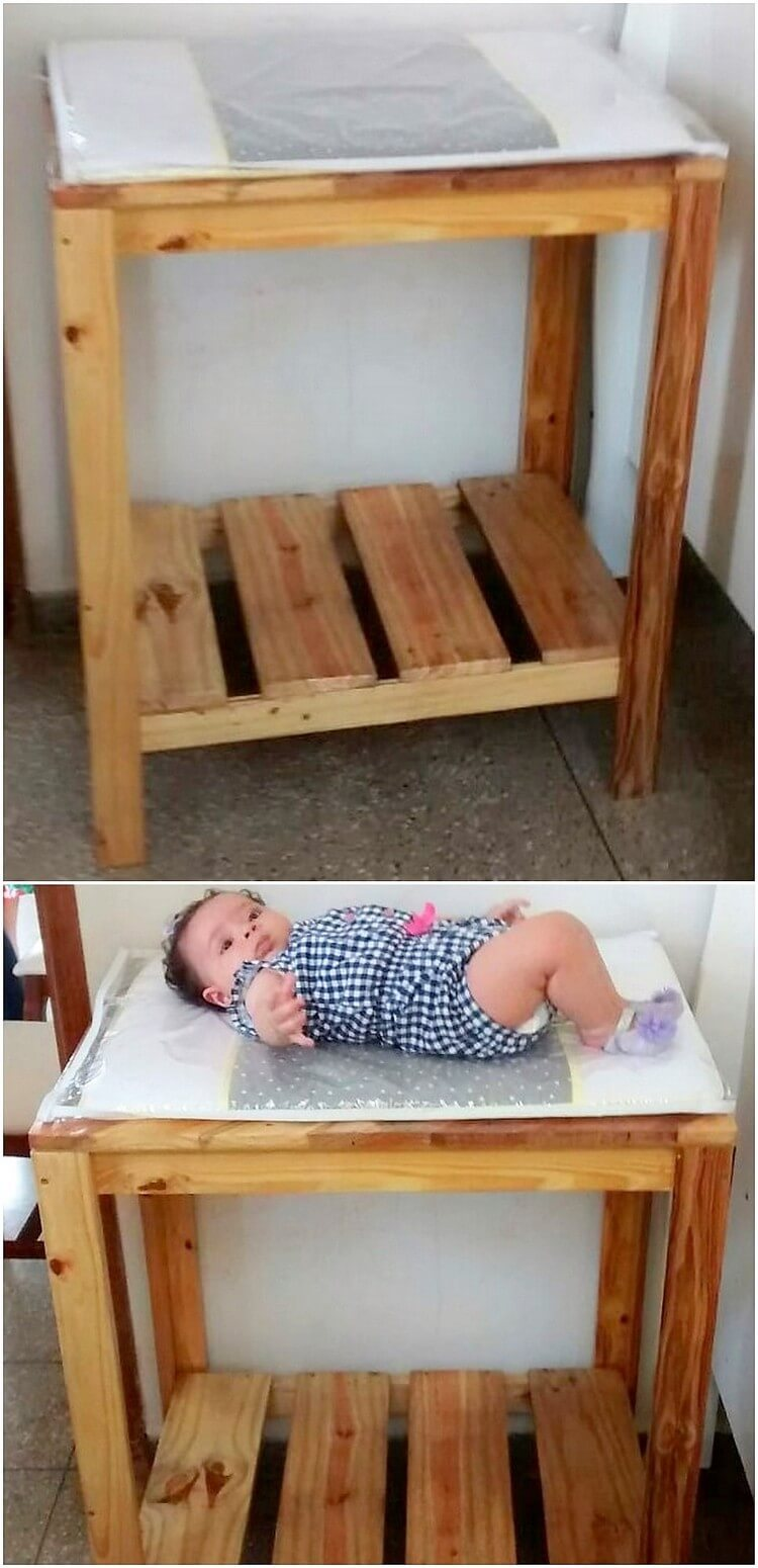 Pallet Table or Bed for Babies