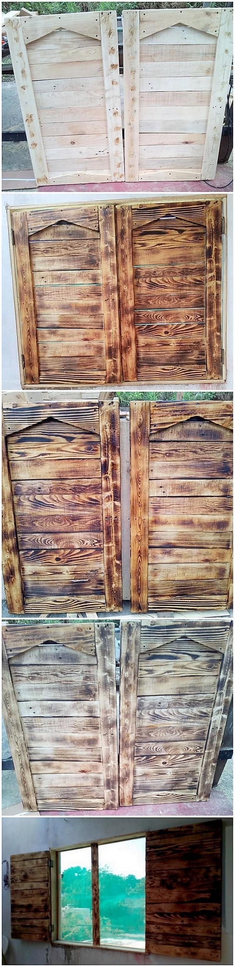 Pallet Window Doors