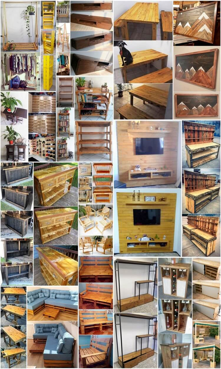 Fresh and Amazing Wood Pallet Crafting Ideas