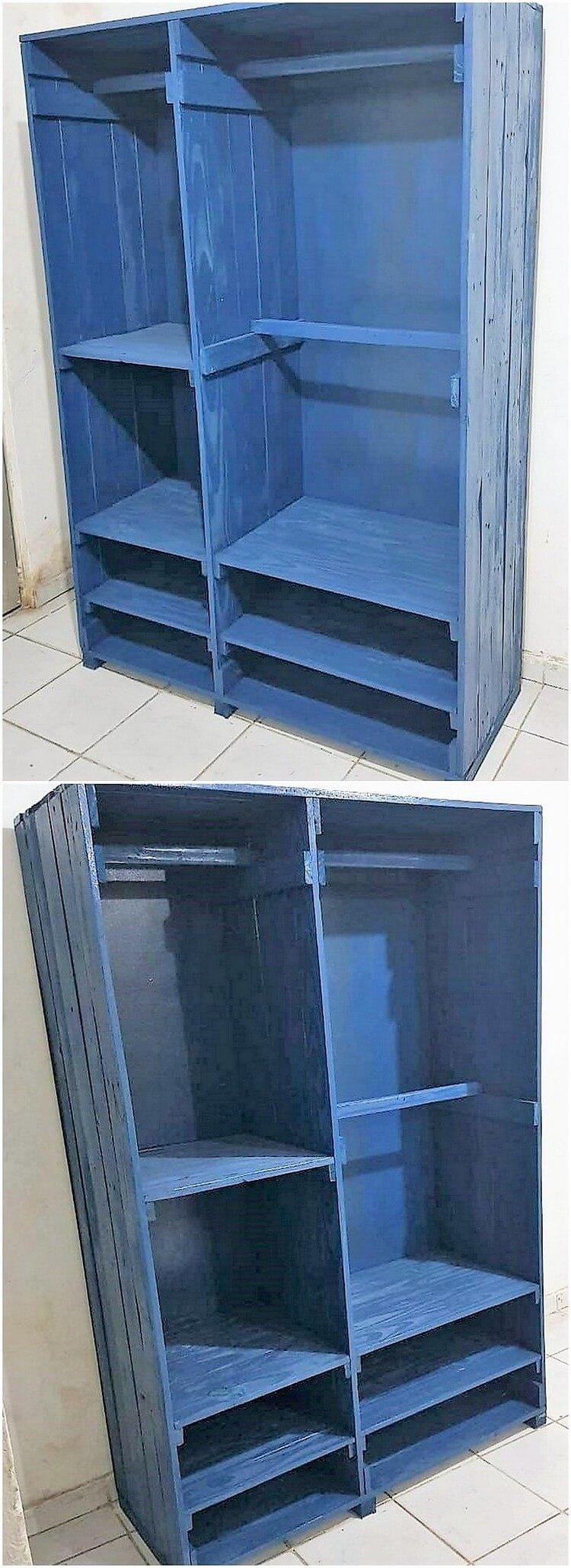 Pallet Closet Idea