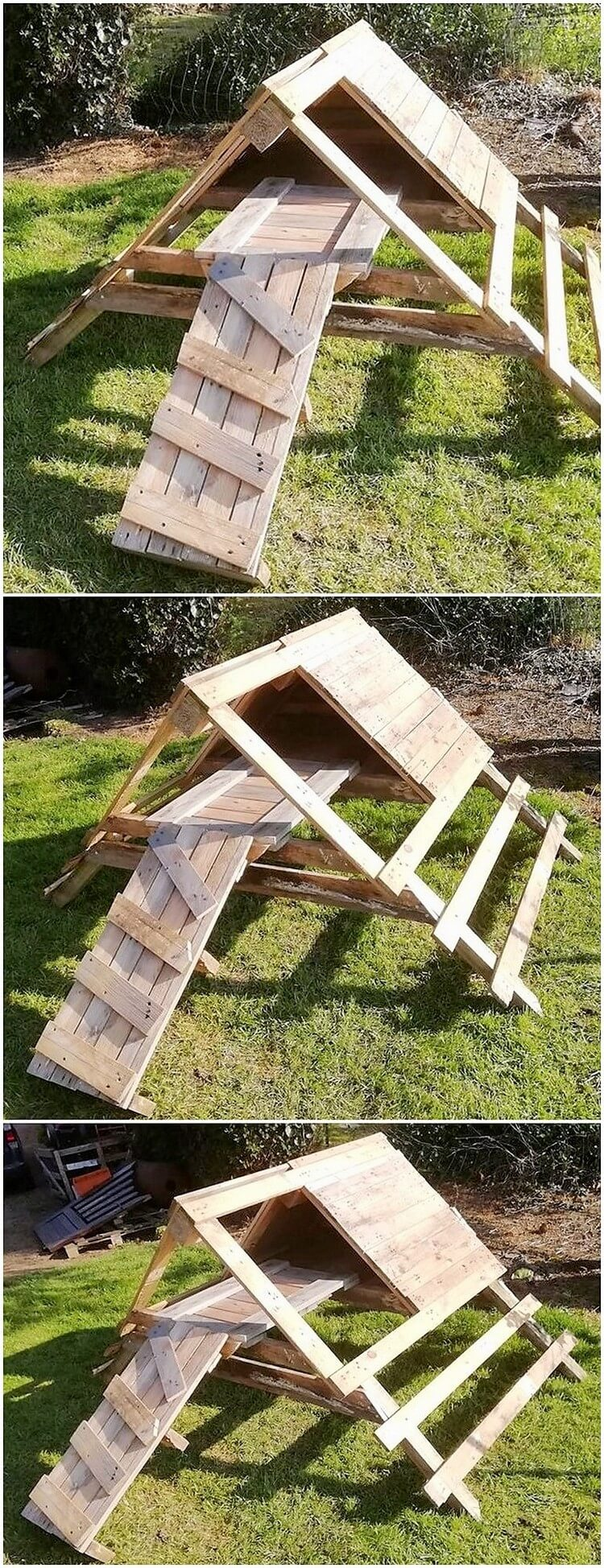 Pallet Play Creation for Kids