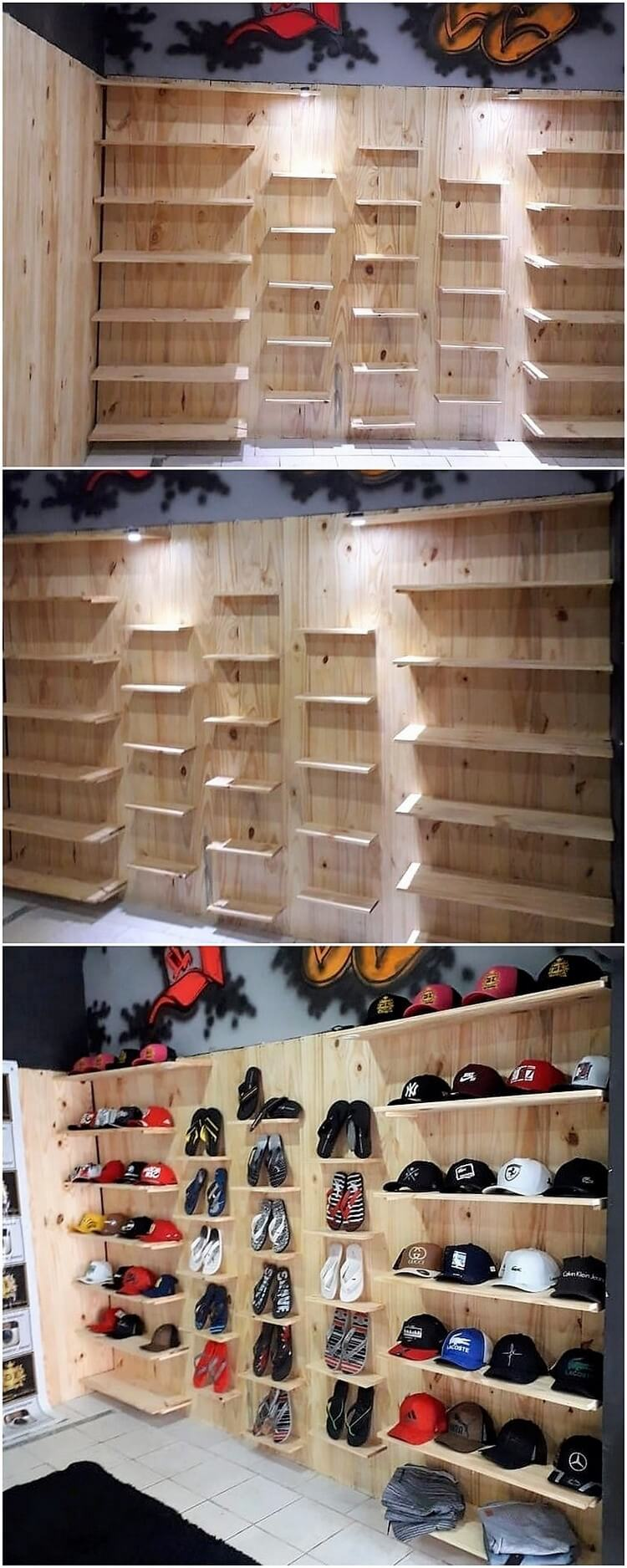 Pallet Shop Creation