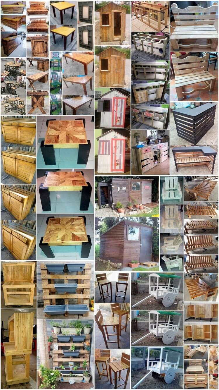 Unimaginable Things to Make with Recycled Pallets